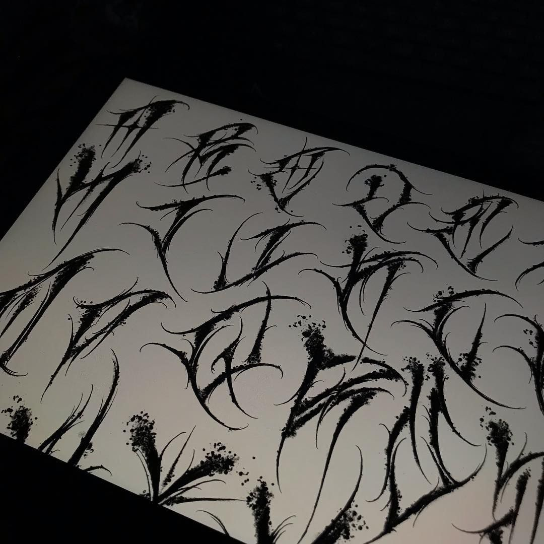 """, 大帝 on Instagram: """"A-Z🖤a-z…"""", My Tattoo Blog 2020, My Tattoo Blog 2020"""