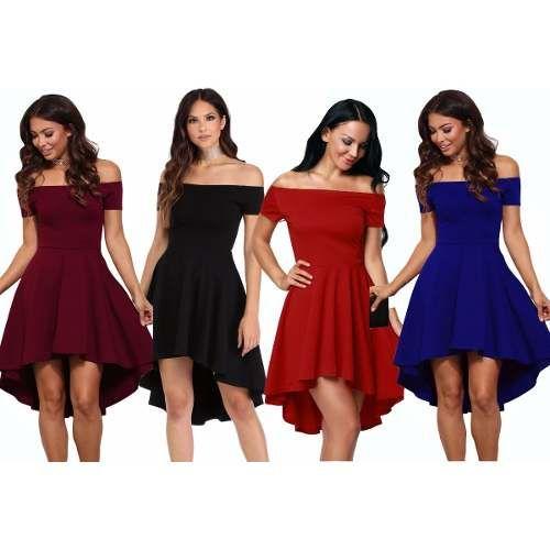 f1cf7d0c7 Vestido De Noche Para Mujer Boda Graduación Envío Gratis-mes -   899.00 en  Mercado