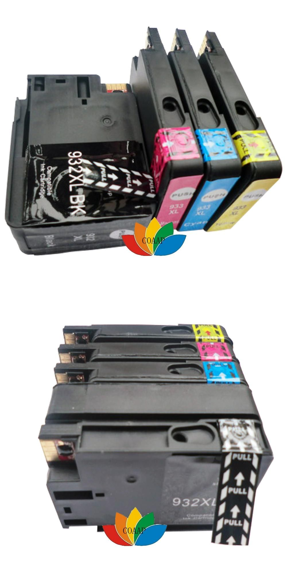 Visit To Buy 4x Compatible Hp 932 933 High Quality Ink Cartridges For Hp932 Hp933 Officejet 6100 6600 6700 7110 7610 7 Ink Cartridge Cartridges Compatibility