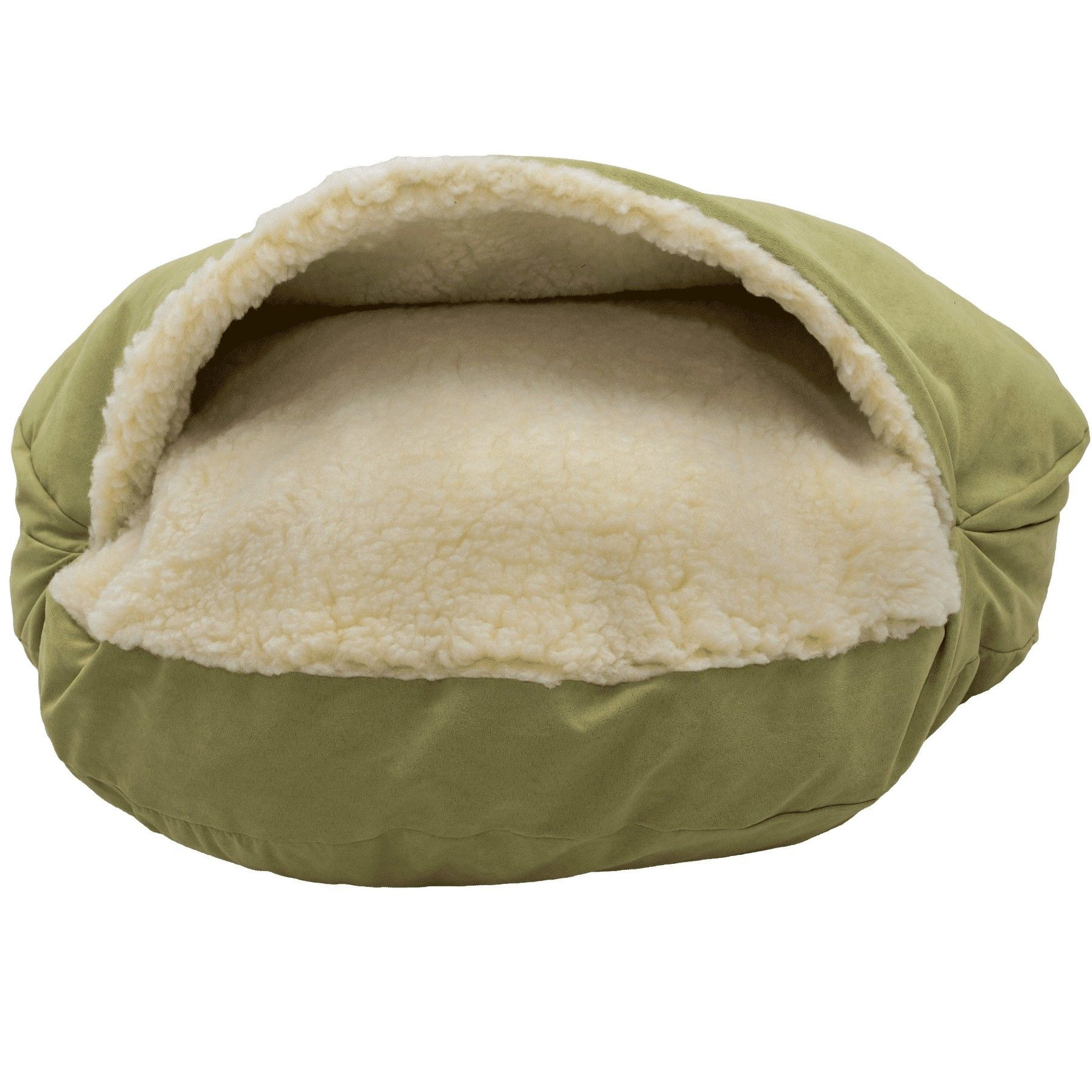 Orthopedic Luxury Cozy Cave Hooded Dog Bed Dog bed, Dog