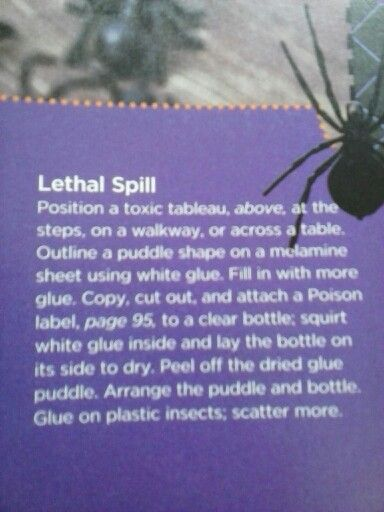 Lethal spill sticky mess pt.2