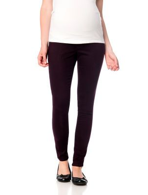 bc69d9bdceffe3 Motherhood Maternity Secret Fit Belly Sateen 5 Pocket Skinny Leg Maternity  Pants