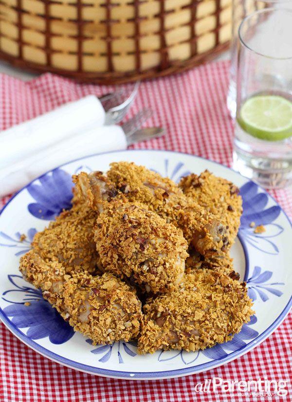 Crispy oven-fried chicken | allparenting.com
