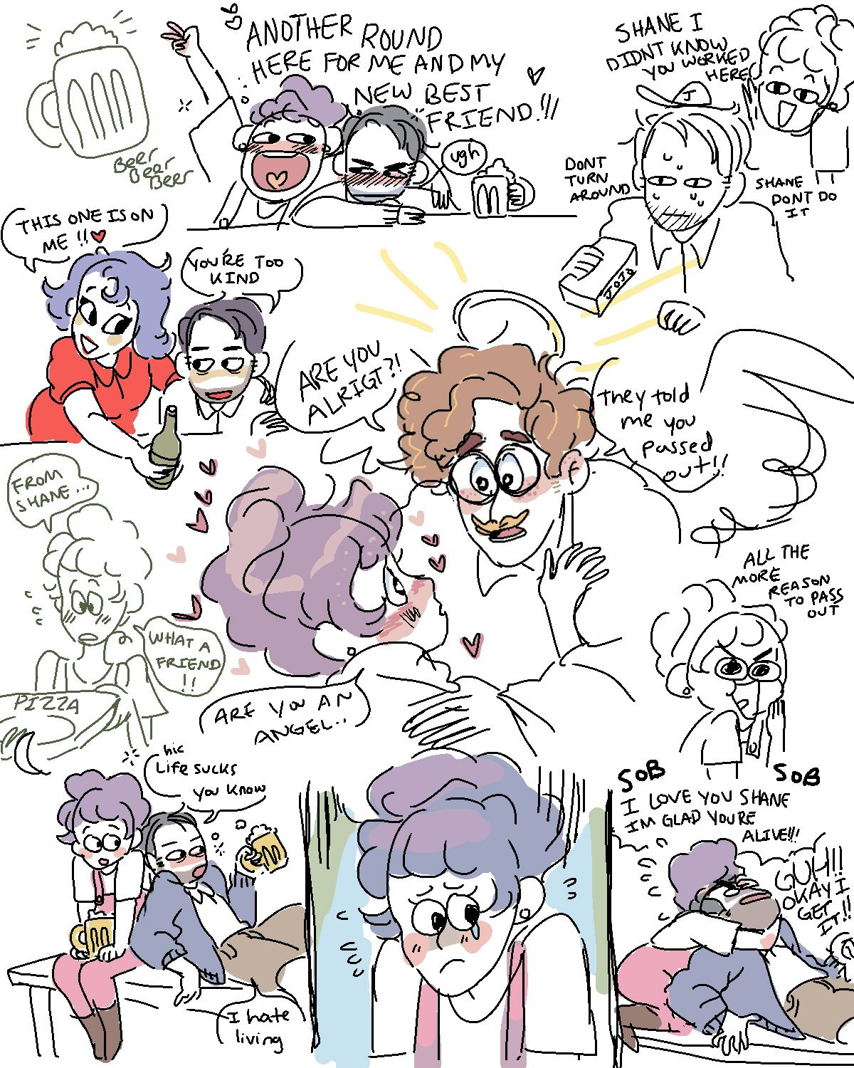 stardew valley dump i like harvey and shane is my best