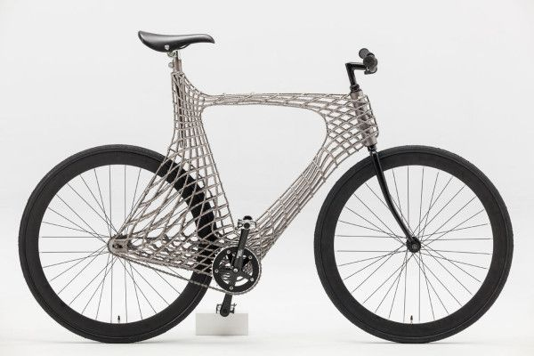 A Fully Functioning, 3D Printed Stainless Steel Bicycle
