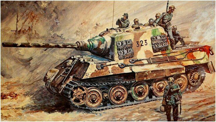 Pin By Janardi Sutono On Jagdtiger Military Artwork Military Art Military Wallpaper