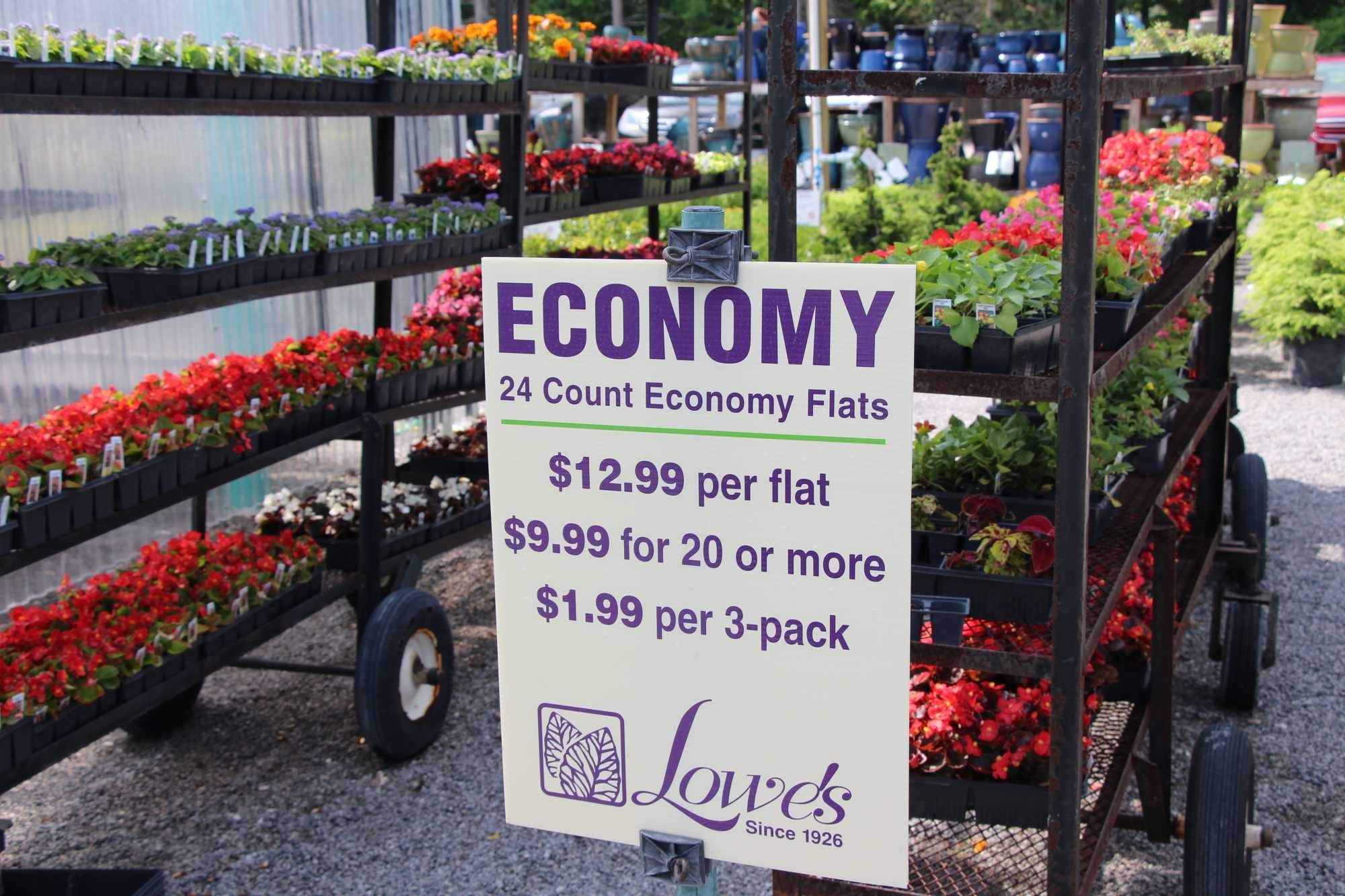 Signage Concepts At Lowes Greenhouse Slideshow Today S Garden