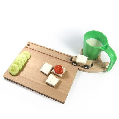 Interesting way for kids to eat