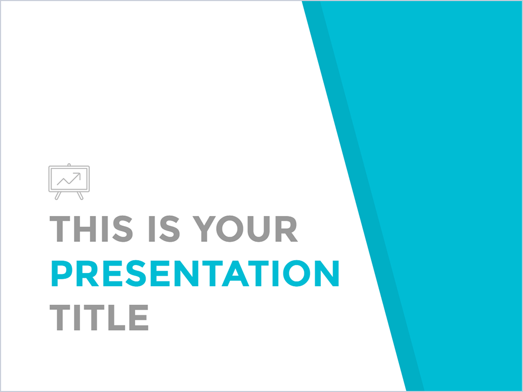 clean and professional, this design will fit almost any topic. use, Presentation templates