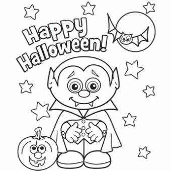 Little Vampire Halloween Para Colorir Desenhos Do Dia Das Bruxas Desenhos De Halloween