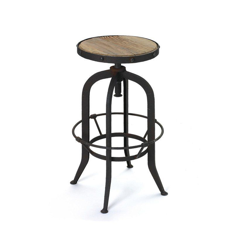 Awe Inspiring Adjustable Emerson Bar Stool 12648 Hip Vintage Products Spiritservingveterans Wood Chair Design Ideas Spiritservingveteransorg