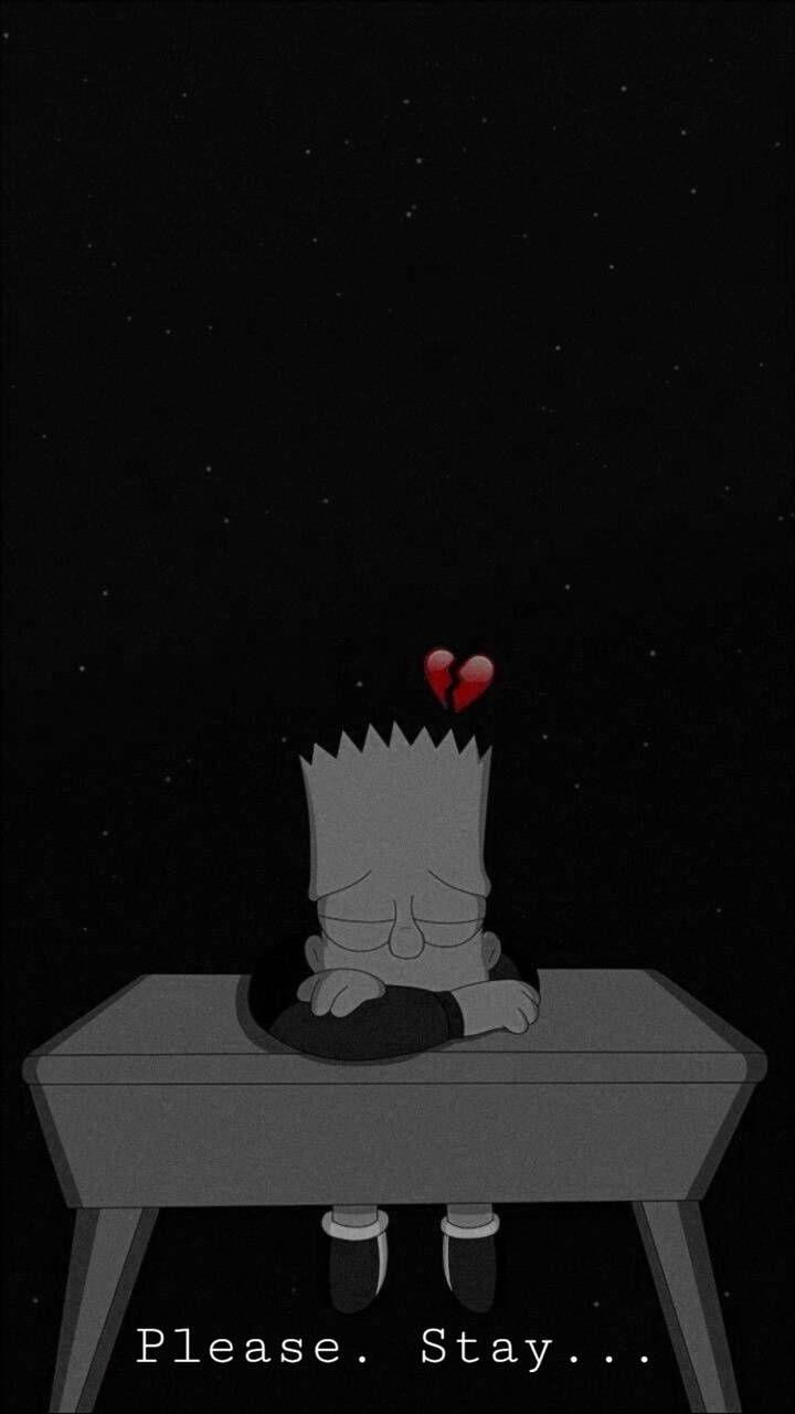 Simpsons sad wallpaper by Reversechapter0 - 87 - Free on ZEDGE™