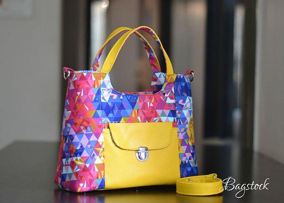The Rose Handbag Pdf Sewing Pattern Bagstock Designs