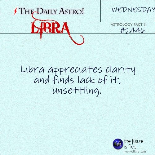 Daily Libra Astrology Fact Have You Checked Out Your Birth Chart