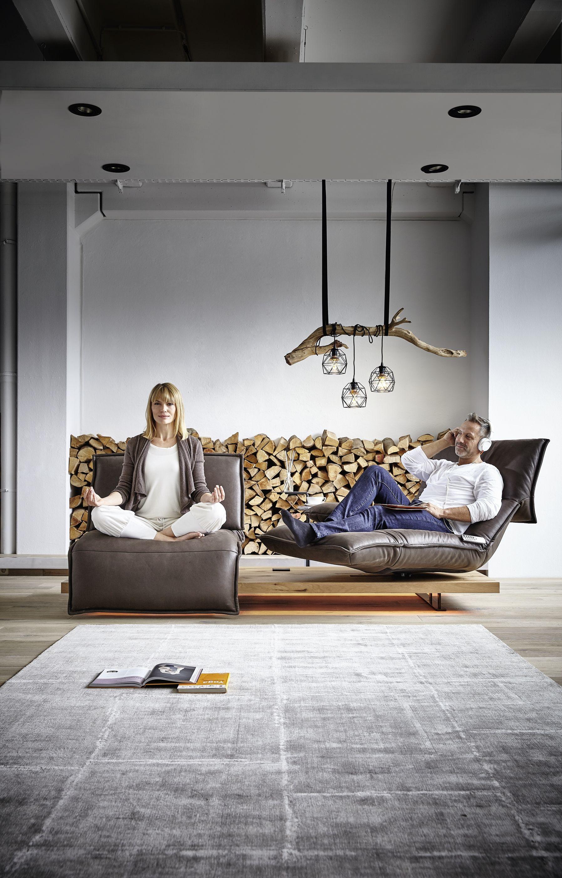 Designsofa Free Motion Von Koinor Sofas Wohnzimmer Mobel Wohnzimmer Sofa Design