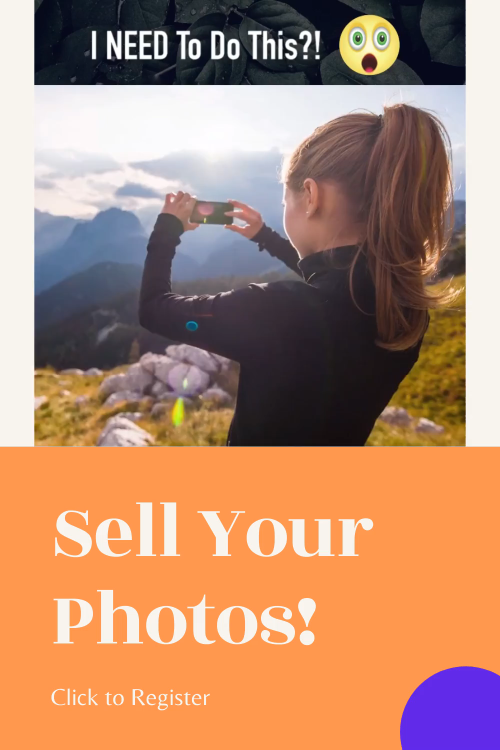 Earn Big Money By Selling You Photos Witch Clicked By You