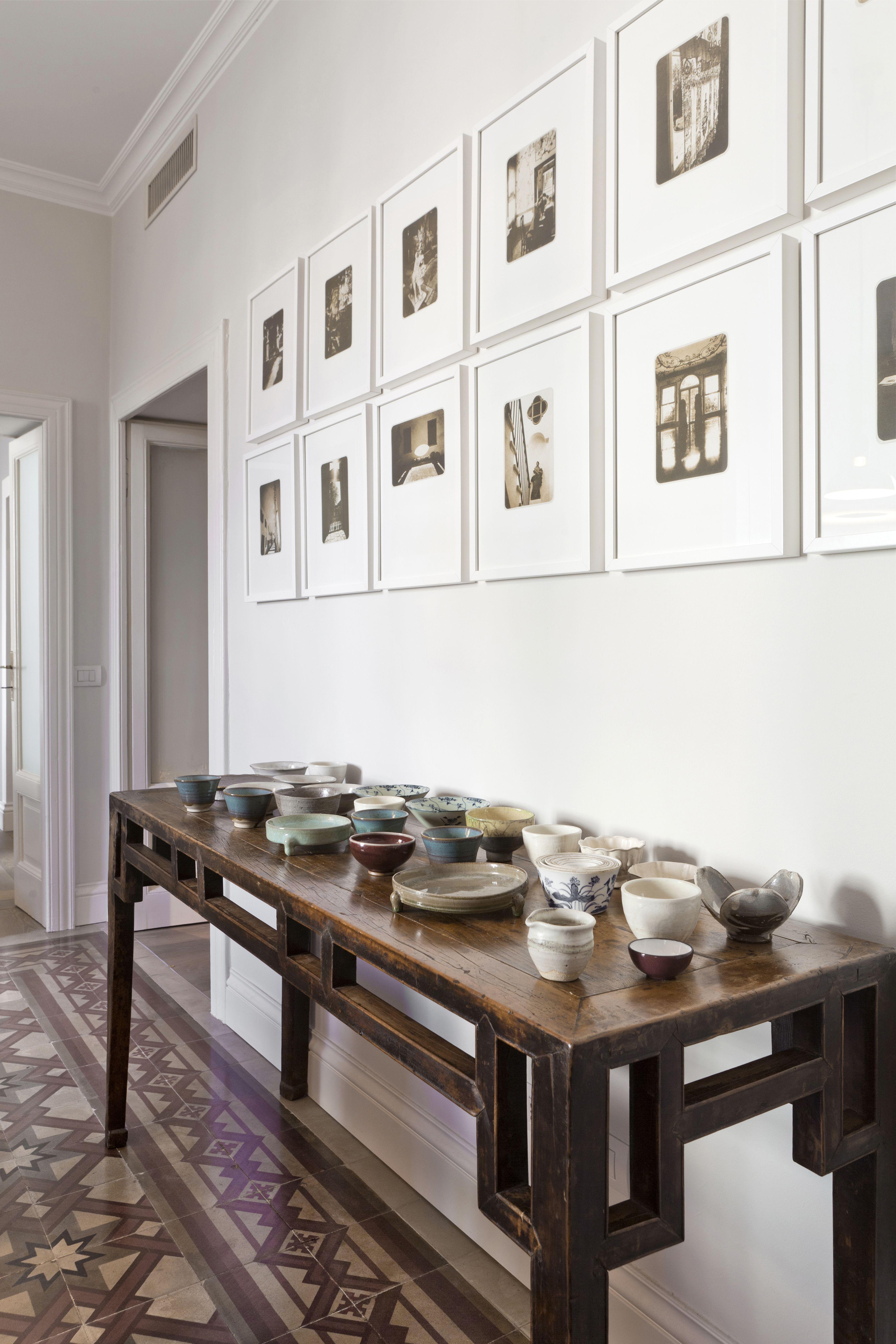 corridoio con quadri   Arredamento, Corridoio, Progetti