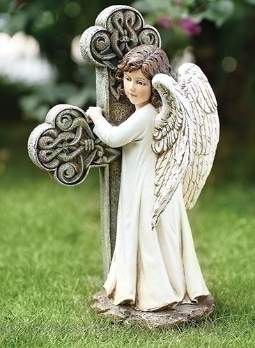 abrazar la cruz Alas Pinterest Angel - outdoor angel christmas decorations