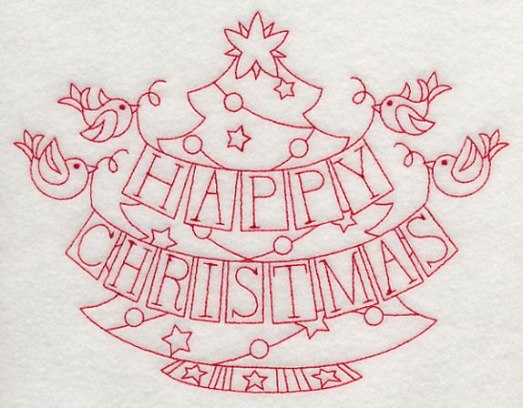 Christmas Redwork Embroidery Designs | ... redwork love christmas heart redwork happy christmas heart redwork