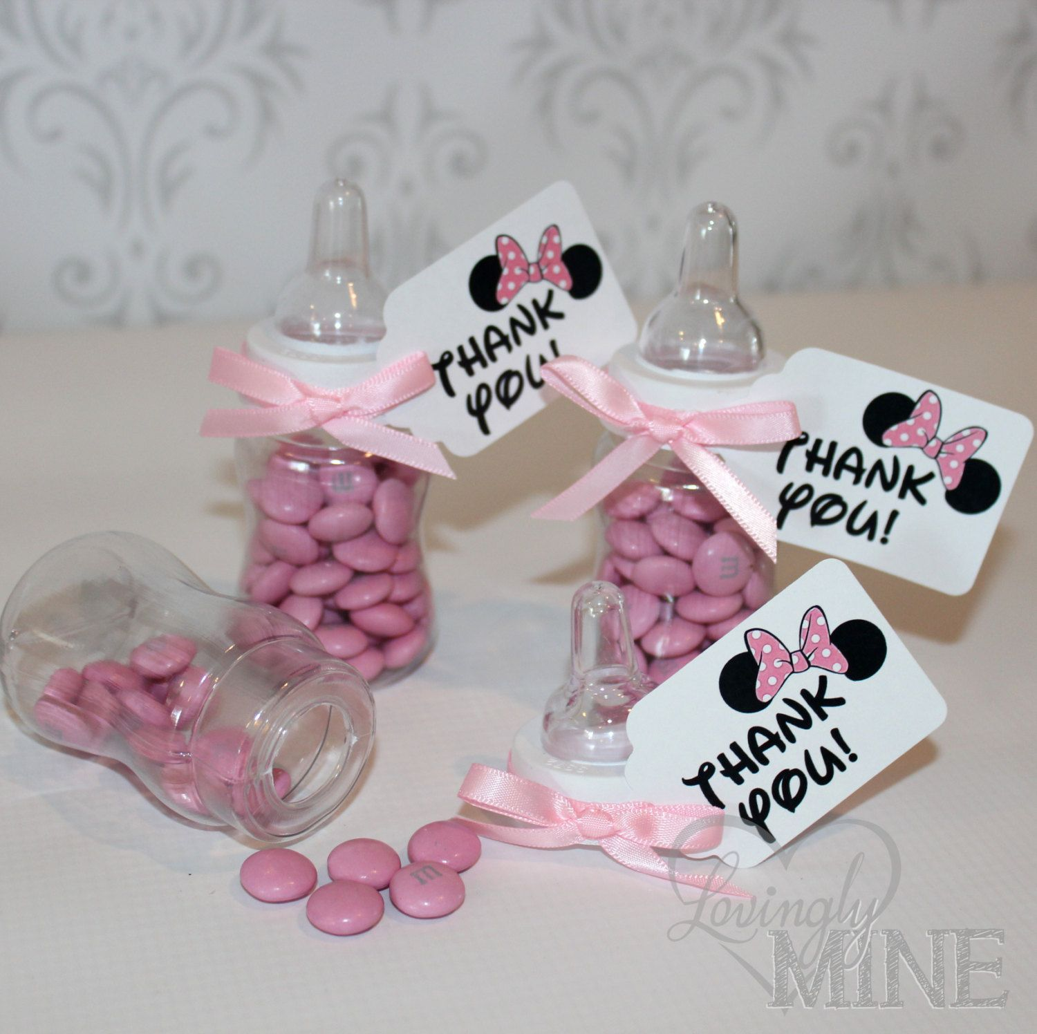 Minnie Mouse Inspired Baby Shower Favors Plastic By Lovinglymine