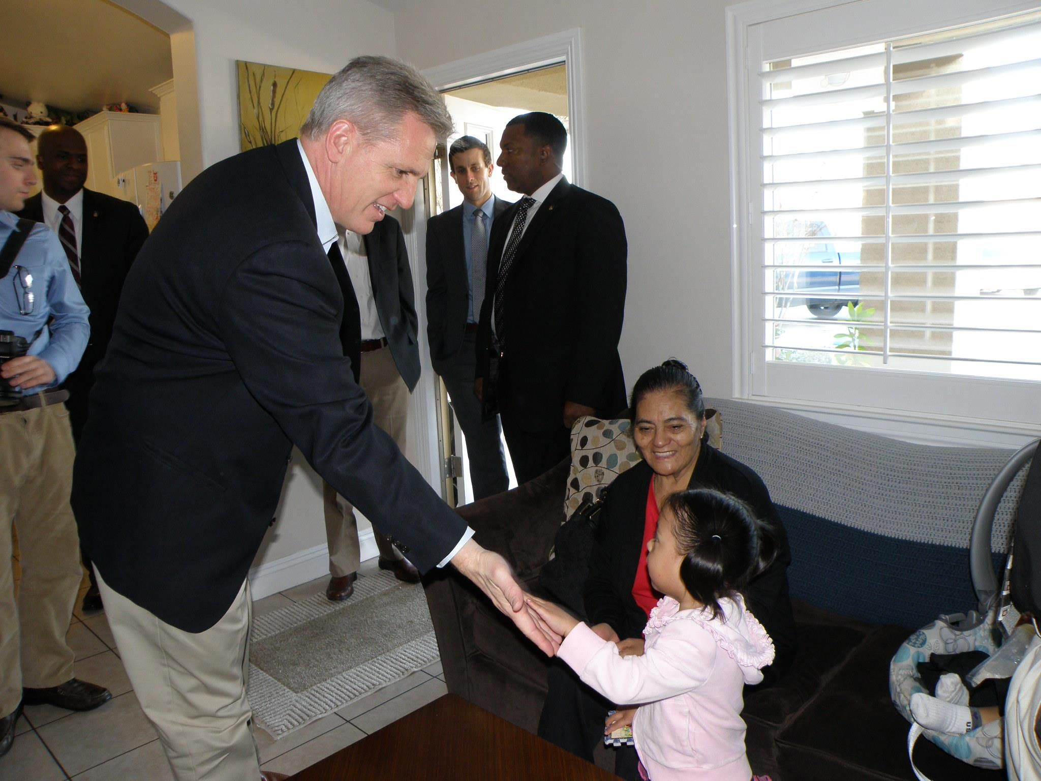 House Minority Whip Congressman Kevin McCarthy visits the BRMH, 1/13 #gopwhip