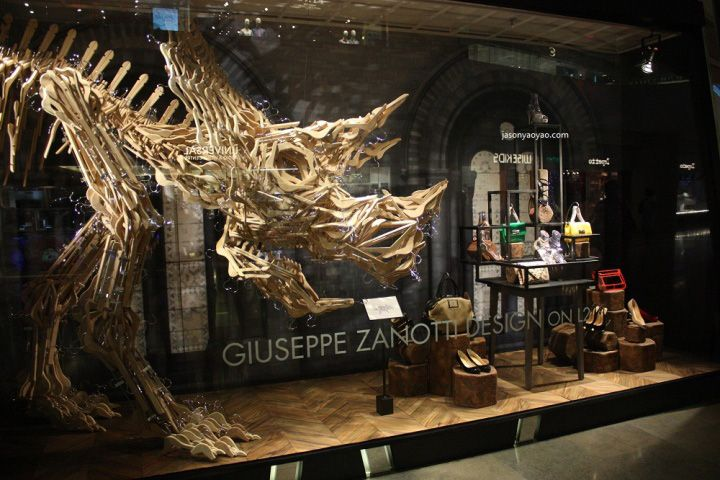 Harvey Nichols Jurassic Park windows Hong Kong 22 Harvey Nichols Jurassic  Park windows, Hong Kong