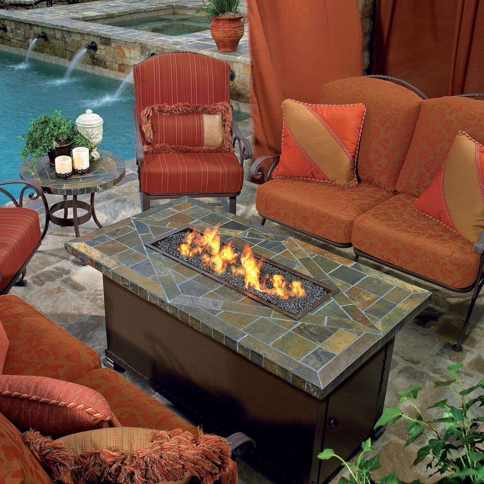 have to have it o w lee largo chat fire pit table 3266 99