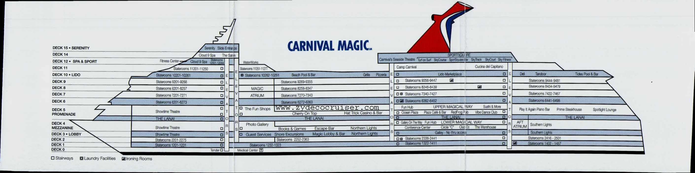 Decks on the carnival magic all things carnival pinterest decks on the carnival magic all things carnival pinterest deck plans cruises and cruise ships baanklon Choice Image