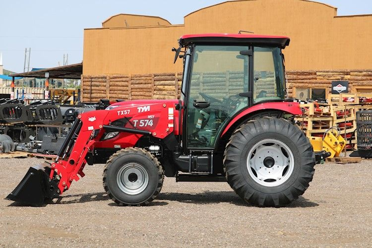 2020 Tym T57hstc Turbo Cab Tractor Loader 55hp 4x4 Hystat For Sale 2020 Tym T57hstc Turbo Cab Tractor Loader 55hp 4x4 In 2020 Tractor Loader Tractor Price Tractors