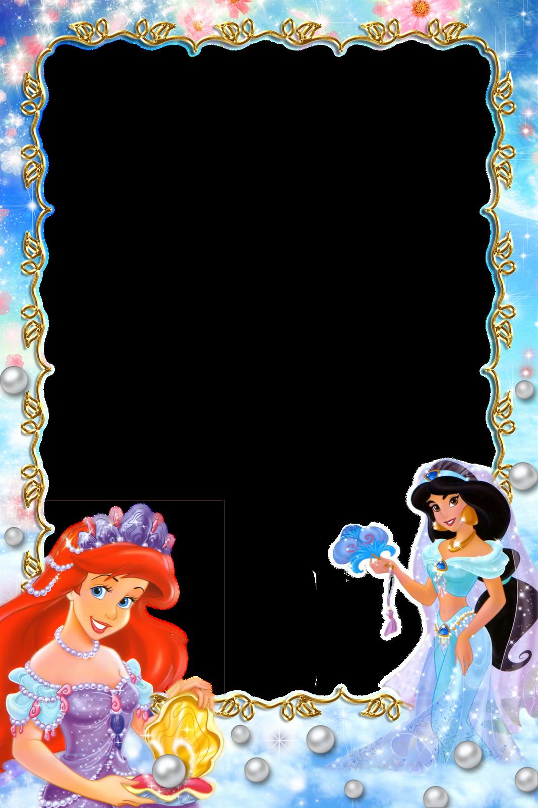 Frame Png File Disney Frames Disney Princess Letter Disney Scrapbook