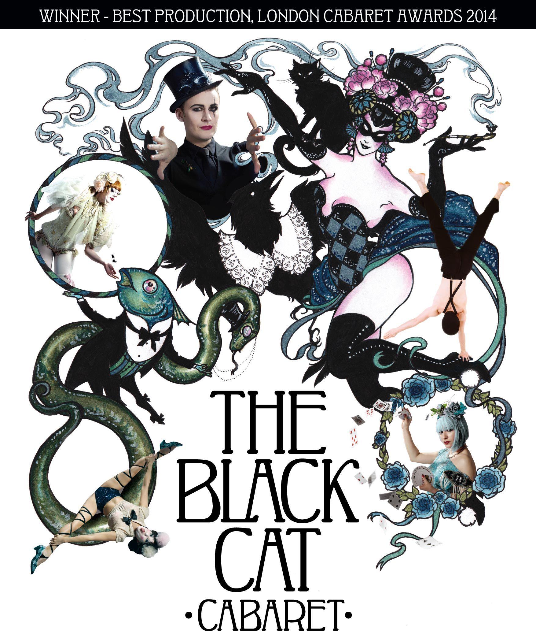 black cat cabaret purveyors of cabaret noir london award winning