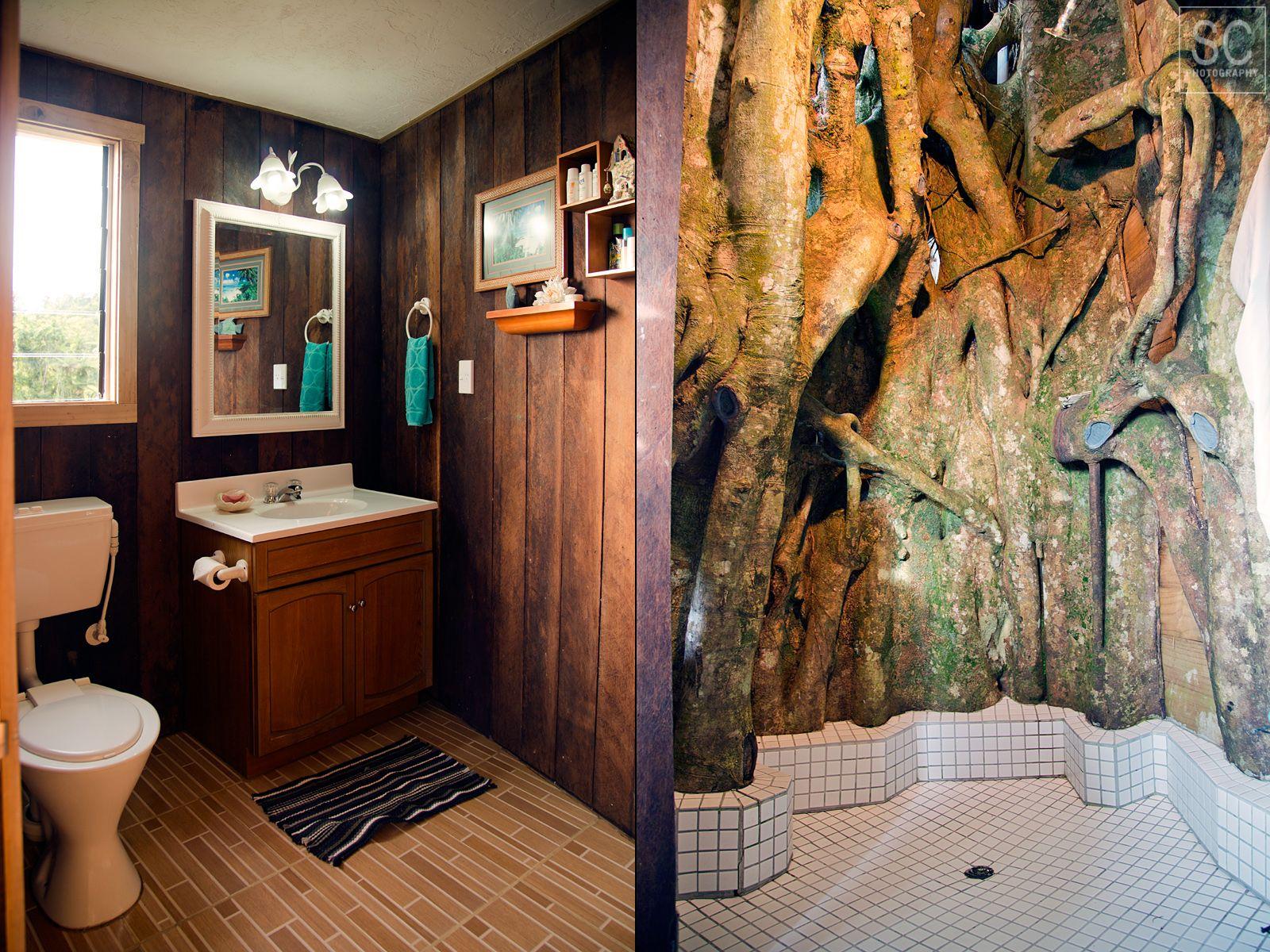 Bathroom in the treehouse lupe sina treesort lupe sina treehouses pinterest treehouse - Tree house bathroom ...