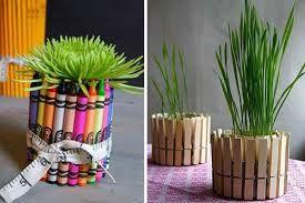 Mmanualidades para decorar el hogar - Macetas