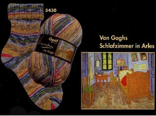Fingering/Sock weight - Opal Yarn/ Based on Van Gogh\u0027s Works Opal