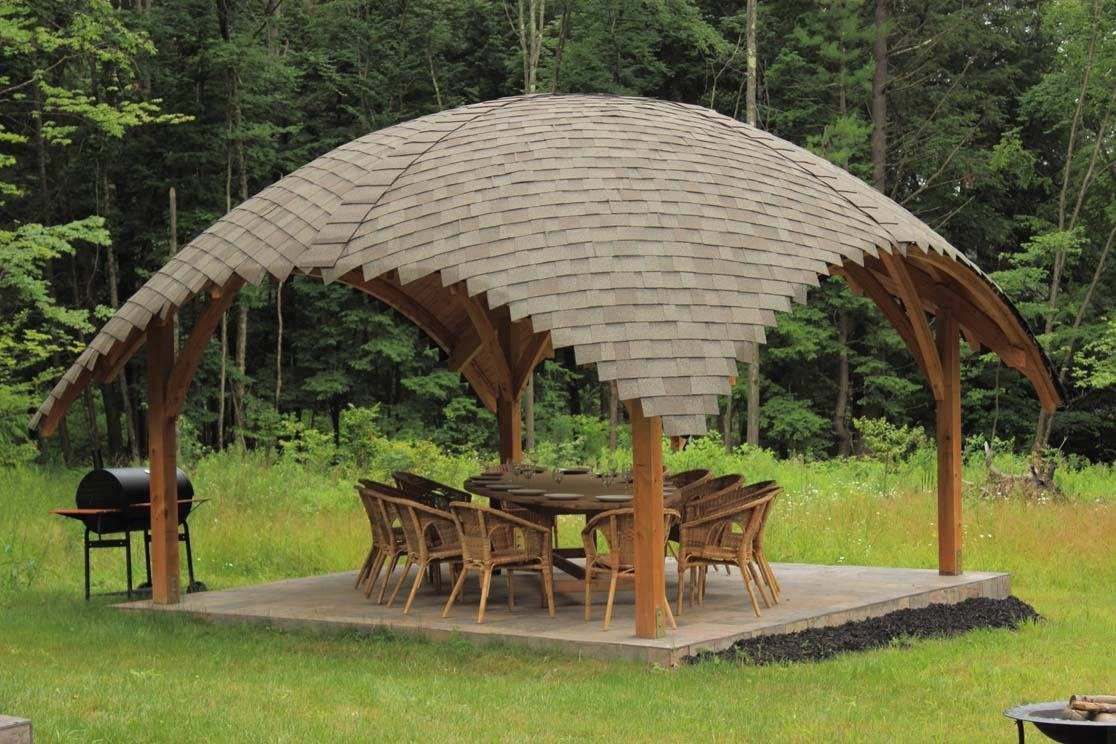 13 Lovely & Inspiring Backyard Gazebos With Original Design - 13 Lovely & Inspiring Backyard Gazebos With Original Design