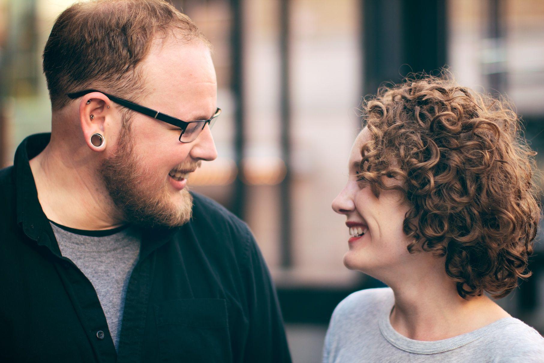 Scott and Moira, Downtown Portland, Oregon