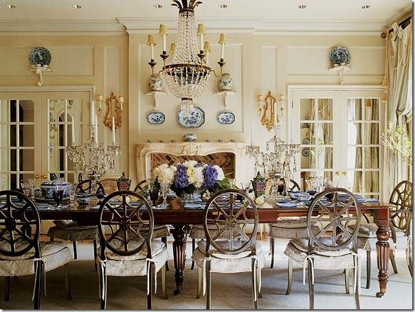 Family Room Designs English Country   Love This French New Country French Dining Room Set Decorating Inspiration
