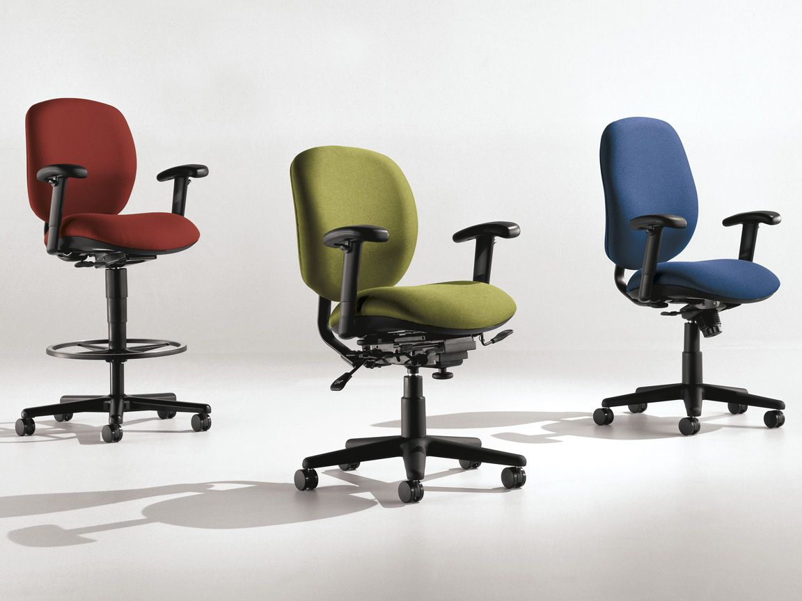 Allsteel Office Chair Wood Potty Trooper Furniture Have A Seat