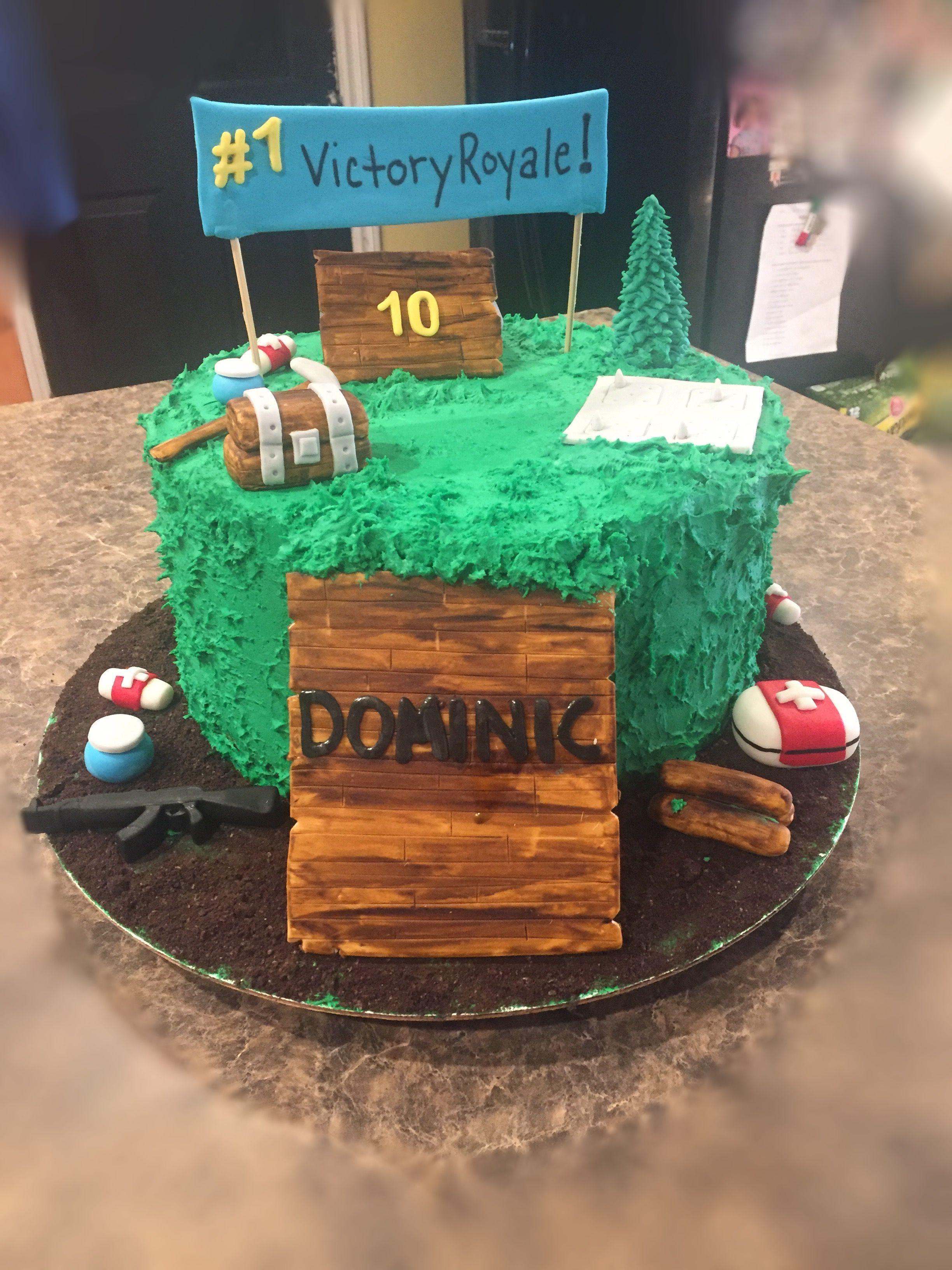 Fortnite Cake Fortnite Battle Royale Birthday Cake Decorating