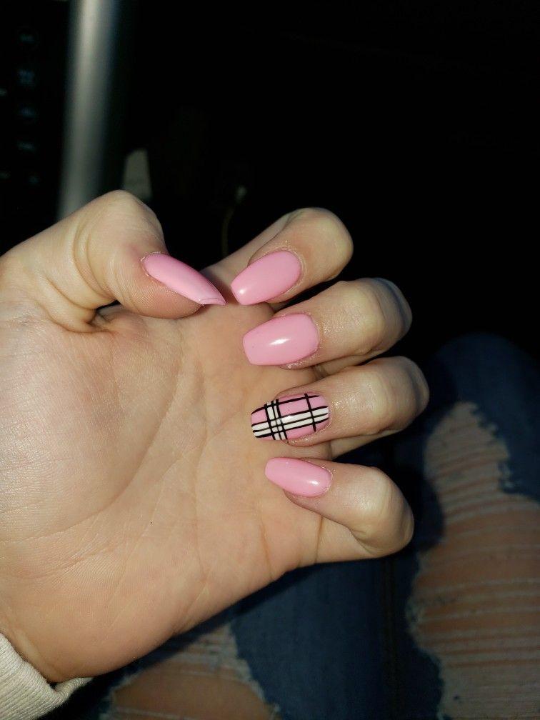 Acrylic Nails Aesthetic Acrylic Nails Fig Blog In 2020 Pink Acrylic Nails Acrylic Nails Coffin Pink Short Acrylic Nails Designs