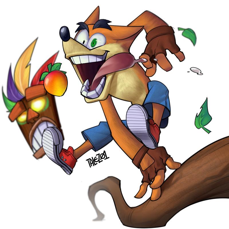 Crash Bandicoot by Talez01