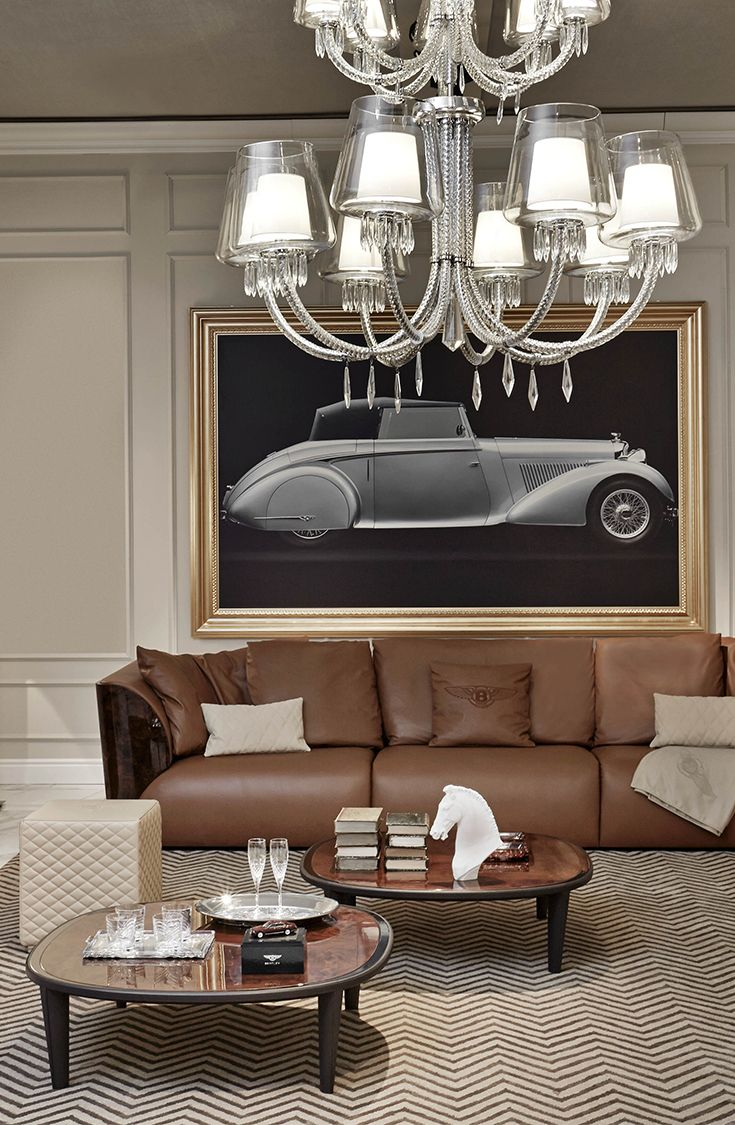 Luxury Showcase For Living Room Royal Art Deco: Elegante Living Room Design With Cliffden Coffee Table By