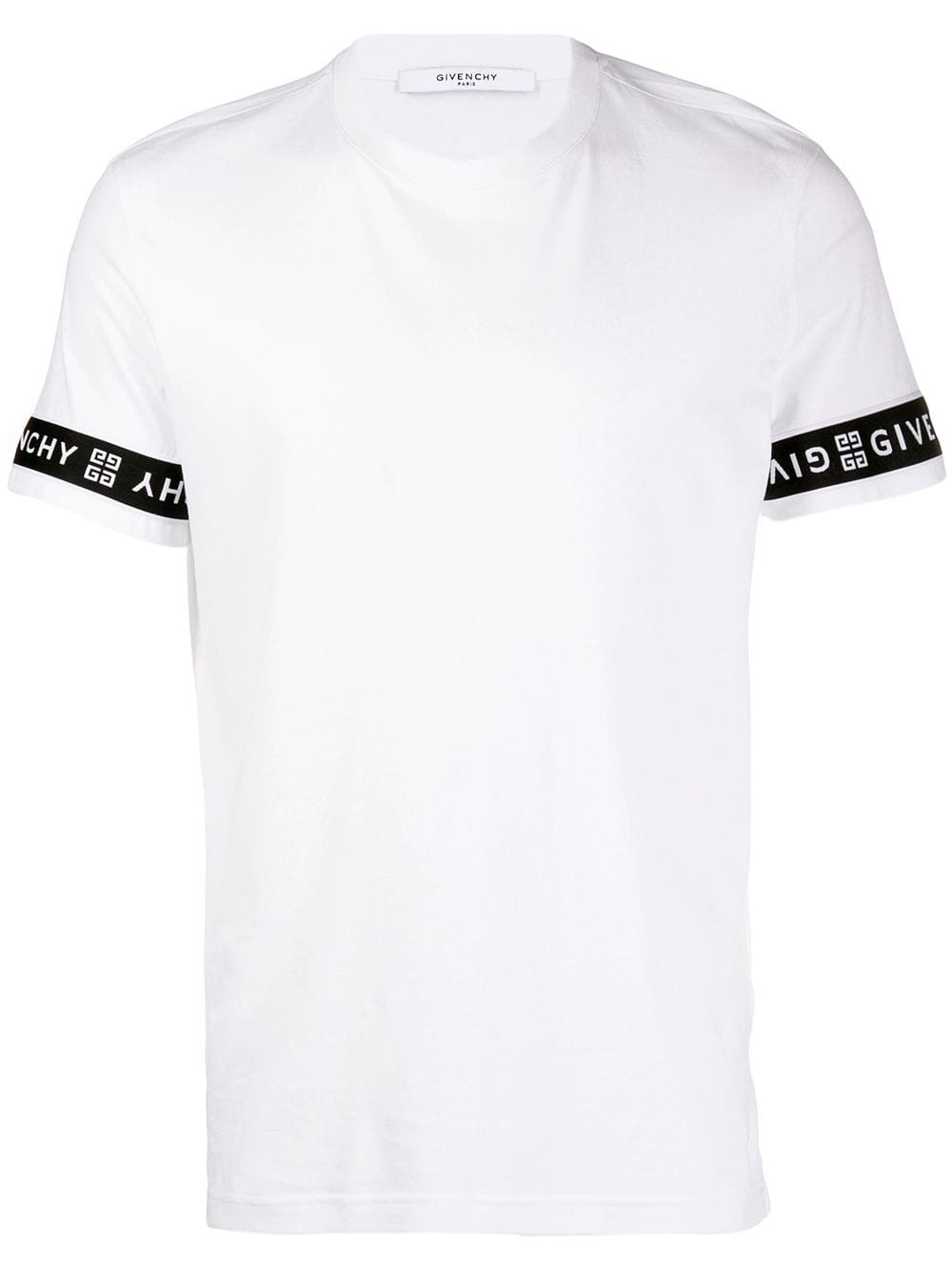 c1469c193d88 Givenchy sleeve logo print band T-shirt - White in 2019 | Products ...