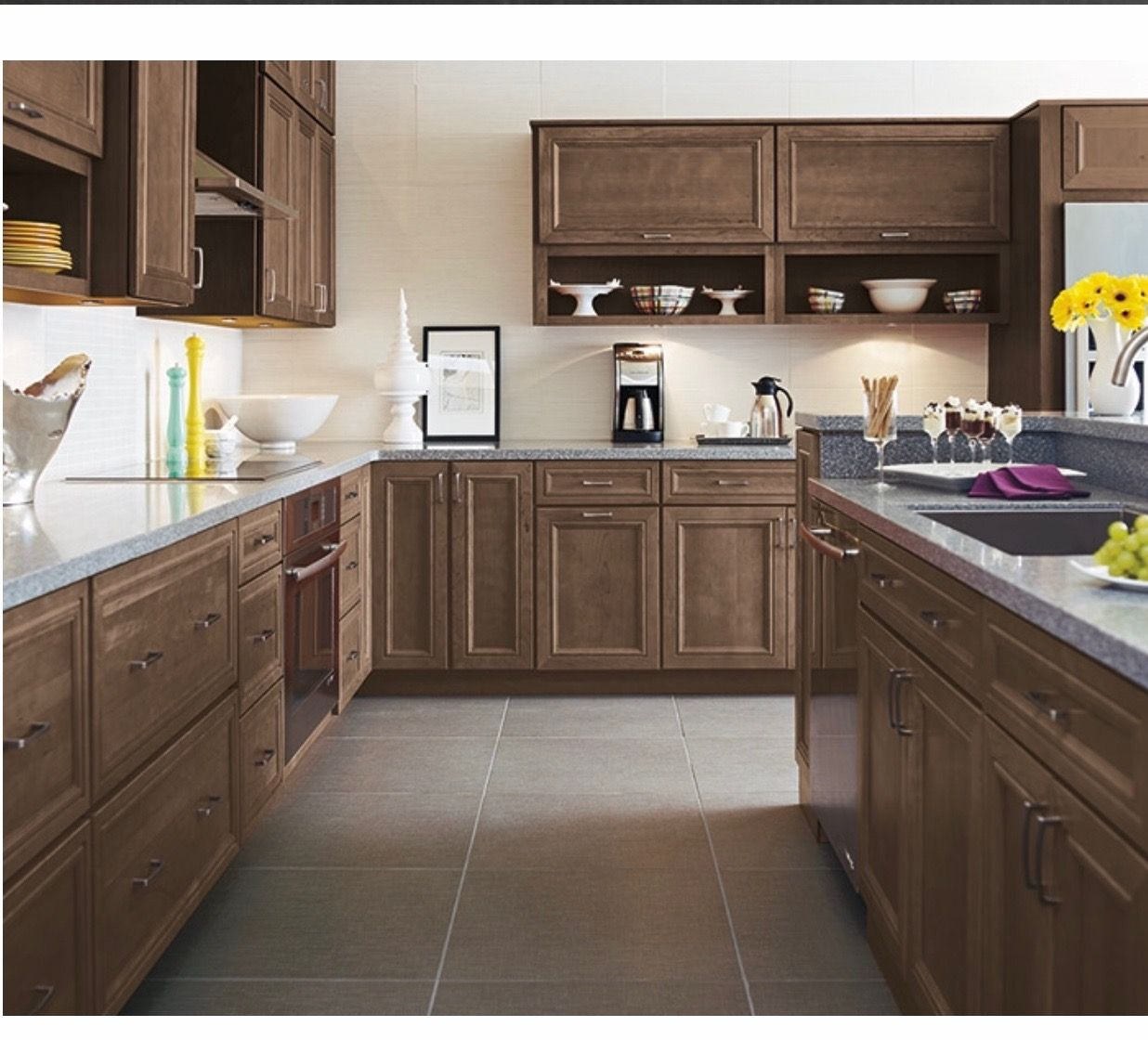 Morel Stained Cherry Cabinets in 2019 | Kitchen cabinets ...