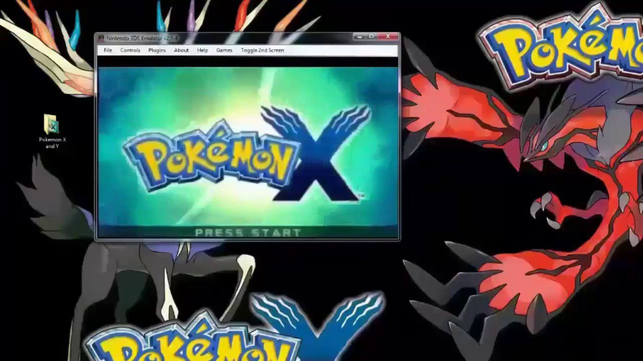 pokemon x 3ds rom free download for pc