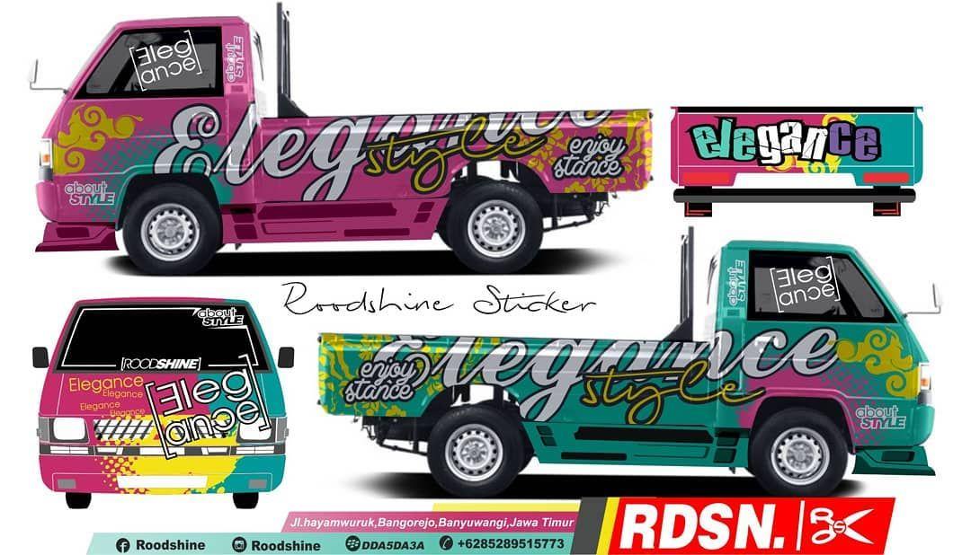 L300 Elegance Style L300cuttingsticker L300pickupmodifikasi Pickupmodifikasi Eltitusi Roodshine Grandmaxcuttingsticker Konsep Mobil Mobil Modifikasi Mobil