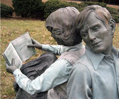 Johnson II, John Seward (1930-...) Symbiosis (detail) Hamilton Township, Free Public Library, Hamilton New Jersey