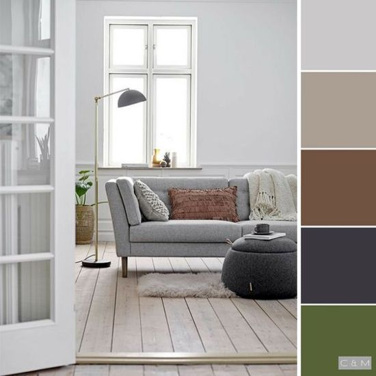 40 inspirasi warna cat interior rumah minimalis   Interior ...