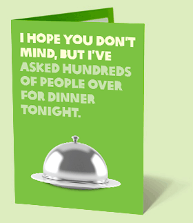 A very special dinner - a gift idea from Oxfam Unwrapped