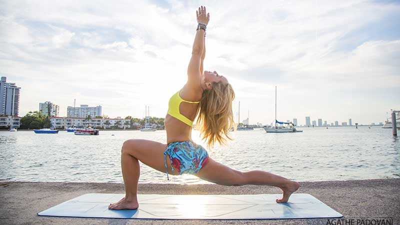 Kino macgregor's 10-minute #yoga sequence for stress relief